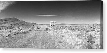Plutonium Valley Canvas Print