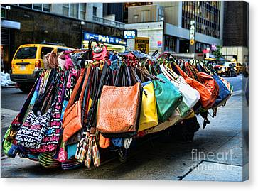 Pocketbooks And Purses Canvas Print by Paul Ward