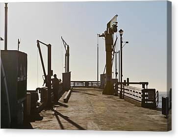 Point Arena Cove Pier Canvas Print