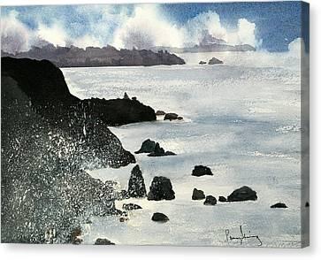 Point Bonita Lighthouse Canvas Print