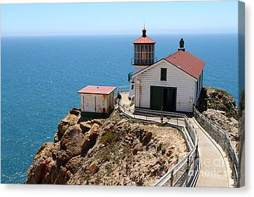 Point Reyes Lighthouse In California 7d16001 Canvas Print by Wingsdomain Art and Photography