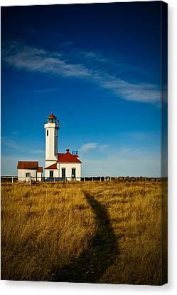 Point Wilson Lighthouse Canvas Print by Dan Mihai
