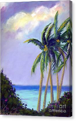 Poipu Palms Canvas Print
