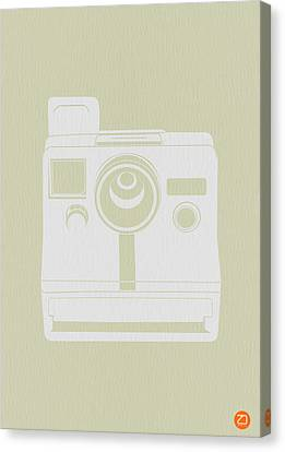 Polaroid Camera 3 Canvas Print by Naxart Studio