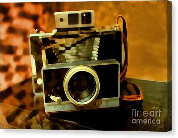 Polaroid Land Camera Model 100 . 7d13289 Canvas Print by Wingsdomain Art and Photography