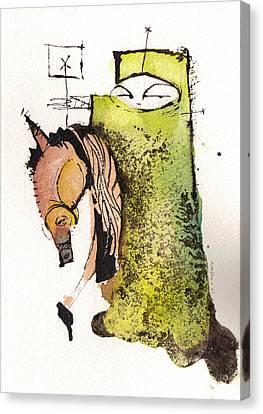 Polemos 4  Canvas Print by Mark M  Mellon