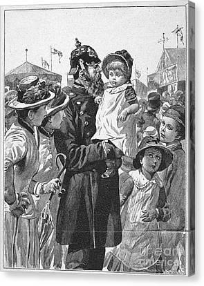 Policeman, 1885 Canvas Print by Granger
