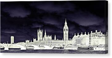 Political Storm Canvas Print by Sharon Lisa Clarke