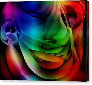 Polychromatic Abstract Canvas Print by Anthony Caruso