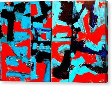 Polyptych    I Canvas Print