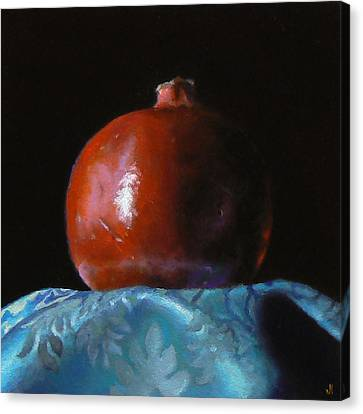 Pomegranate Number 2 Canvas Print by Jeffrey Hayes