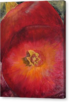 Pomegranates Canvas Print