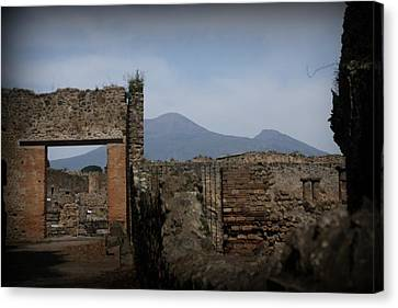 Pompei Canvas Print by Kevin Flynn