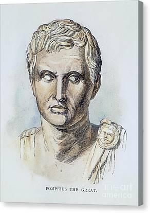 Pompey (106-48 B.c.) Canvas Print by Granger