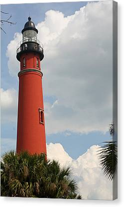 Ponce Inlet Lighthouse II Canvas Print by Theresa Johnson