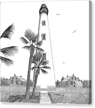 Ponce Inlet Lighthouse Canvas Print by Tim Murray