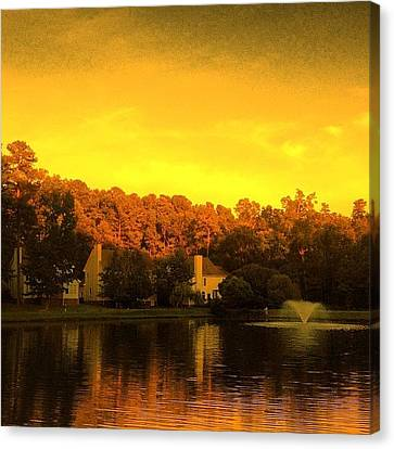 Edit Canvas Print - Pond by Katie Williams