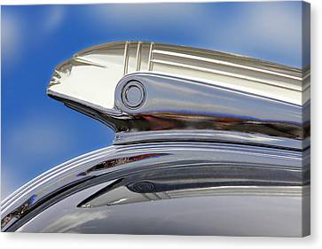 Pontiac Hood Ornament  Canvas Print by Mike McGlothlen