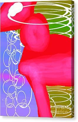 Ponyrose Canvas Print by Toteto Toteto