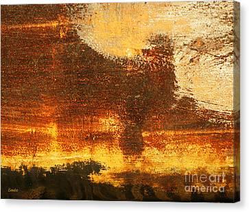 Poodle Canvas Print by Eena Bo