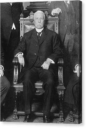 Porfirio D�az 1830-1915, President Canvas Print by Everett