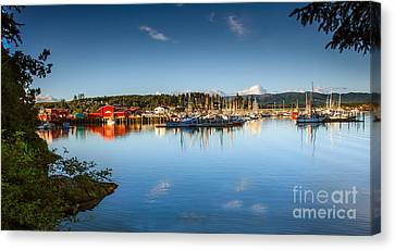 Port Of Ilwaco Canvas Print by Robert Bales