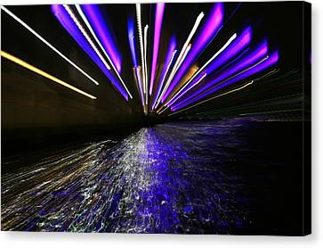 Port Slide Lightz Canvas Print