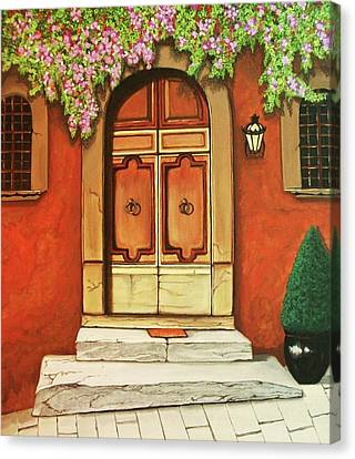 Porta D'ingresso Canvas Print