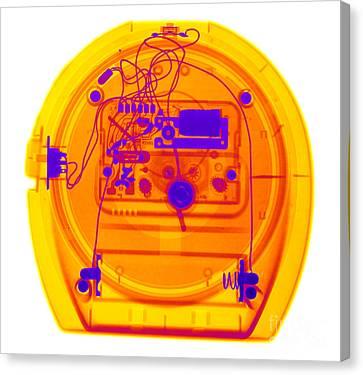 Portable Clock Canvas Print by Ted Kinsman
