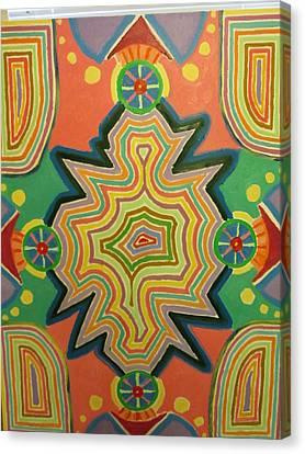 Portal Canvas Print by Forrest Kelley