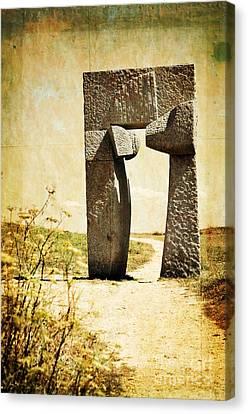 Portal - La Coruna Canvas Print by Mary Machare