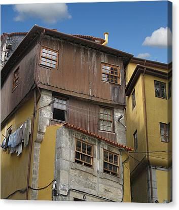 Porto By Day Canvas Print by Arlene Carmel