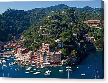 Portofino Canvas Print by Antonio Vaccarini