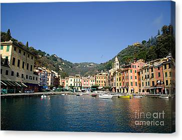 Portofino Canvas Print by Mats Silvan