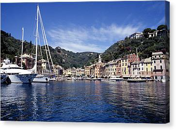 Portofino On The Italian Riviera Canvas Print by Peter Phipp