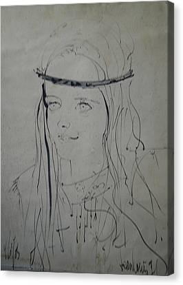 Portrait 1971 Colette Canvas Print by Colette V Hera  Guggenheim