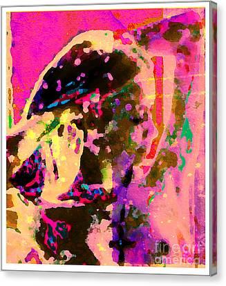Portrait 2011 Canvas Print by Peter Szabo