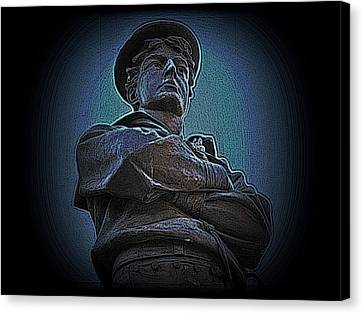 Portrait 33 American Civil War Canvas Print by David Dehner