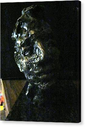 Portrait Head Canvas Print by Lynnrose Light