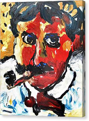 Portrait Of Derain After Vlaminck Canvas Print