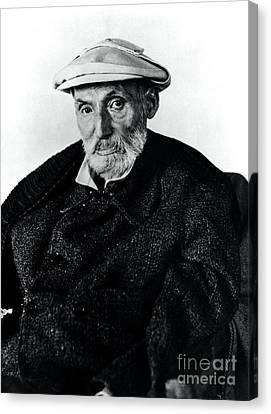 Portrait Of Renoir Canvas Print by Photo Researchers