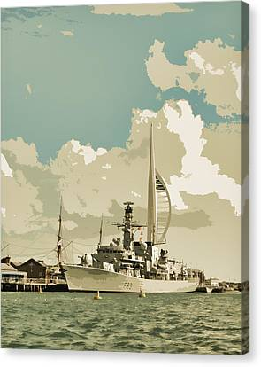 Portsmouth Canvas Print by Sharon Lisa Clarke