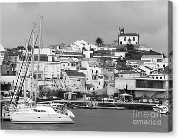 Portuguese City Canvas Print by Gaspar Avila