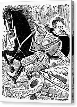 Posada: Dead Revolutionary Canvas Print by Granger