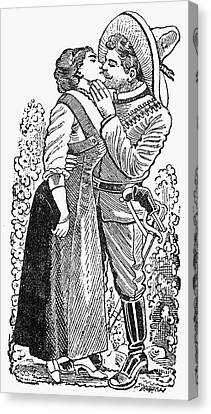 Posada: Revolutionary Canvas Print by Granger