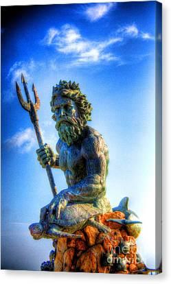 Poseidon Canvas Print by Dan Stone