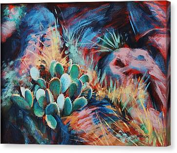 Positively Prickly Canvas Print