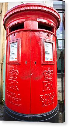 Post Box Canvas Print by Tom Gowanlock