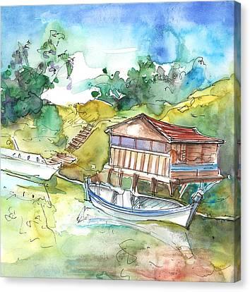 Potamos Liopetri 01 Canvas Print by Miki De Goodaboom