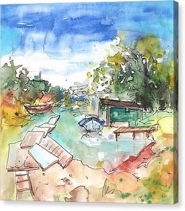 Potamos Liopetri 02 Canvas Print by Miki De Goodaboom